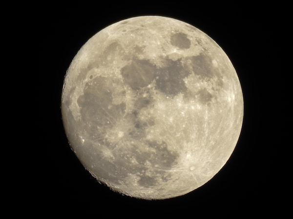 Billede af Månen
